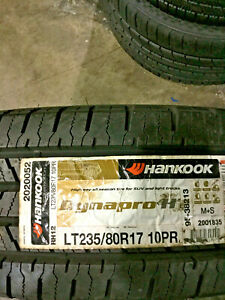1 New Lt 235 80 17 Lre 10 Ply Hankook Dynapro H t Tire