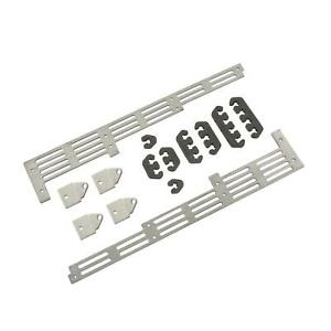 Mr Gasket 6018 Universal Spark Plug Wire Divider Set Clear Anodized