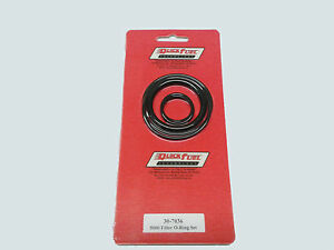Quick Fuel 30 7036qft And Barry Grant 5000 Canister Style Filter O Ring Set