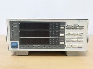 Yokogawa Wt210 Digital Power Meter opt d c2 hrm cmp