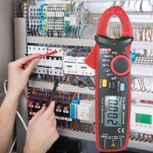 Uni t Ut210e True Rms Ac dc Current Clamp Meter With Capacitance Tester O0v1