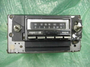 Oldsmobile 1973 Am Fm 8 Track Radio
