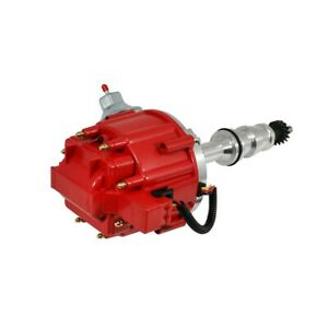 Ford Bbf Fe V8 65k One Wire Hei Distributor 352 360 390 406 427 428 Red Cap