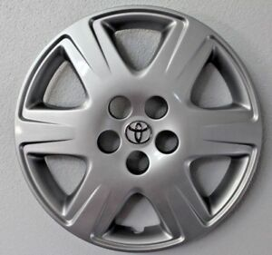 1 Toyota Corolla 2005 2008 Hubcap Factory Original 61133 Wheelcovers