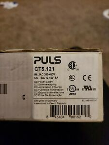 Puls Ct5 121 Dimension Din Rail Power Supply 12v Dc 8a 96w 2 phase