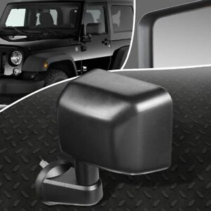 For 07 18 Jeep Wrangler Jk Oe Style Manual Left Side View Door Mirror Assembly