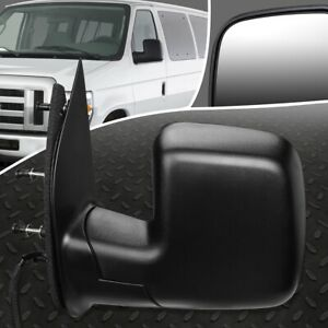 For 02 06 Ford Econoline E150 E250 Oe Style Powered Left Side View Door Mirror