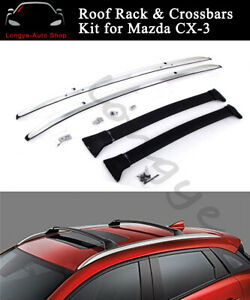 Fits For Mazda Cx 3 Cx3 2016 2020 Roof Rack Rail Carrier Crossbar Cross Bar Kit