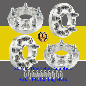 20mm Thick Wheel Adapters 5x112 To 5x114 3 Hubcentric For Audi 4 20 Lug Nuts