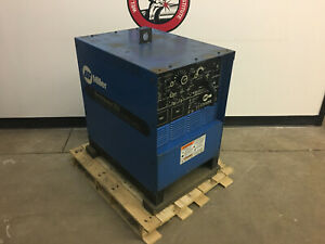 Used Miller Electric Syncrowave 250 Ac dc Gtaw Tig Welder 1ph 200 230 460 Tested
