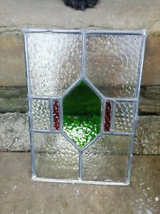 Old Piece Of Stained Glass