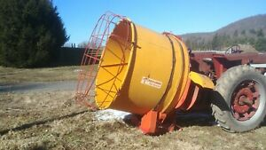 Teagle Tomahawk 5050 Round Bale Processor Shredder Mulch Feeder Bedding