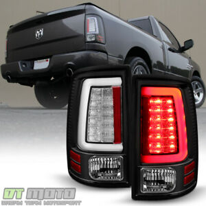 Black 2013 2018 Dodge Ram light Tube Led Tail Brake Lamps 13 18 Left right
