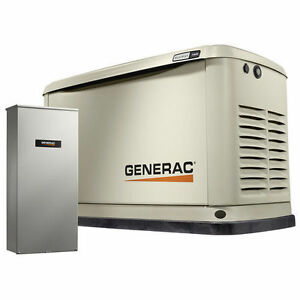 Generac 7032 11 000 Watt Standby Generator With 16 Circuit Transfer Panel