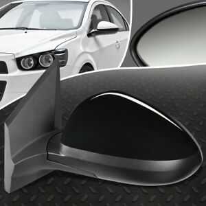 For 12 19 Chevy Sonic Oe Style Manual Driver Left Side View Door Mirror Assembly