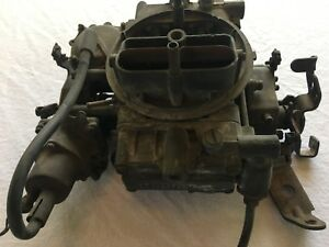 Carburetor Holley 4bbl 7 0l Ford L Ln 700 800 D9te 9510 ayb