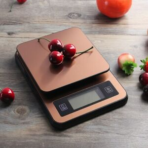 2kg 0 1g Lcd Display Digital Stainless Steel Electronic Kitchen Scale W Usb Pow