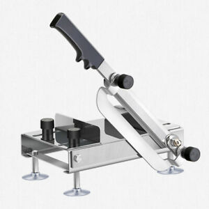 Manual Food Meat Slicer Stainless Steel Food Meat Cutter Machine Adjustable Thic