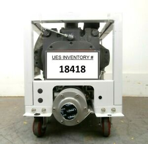Iqdp40 Edwards A532 40 905 Dry Vacuum Pump Tested Working Needs Rebuild