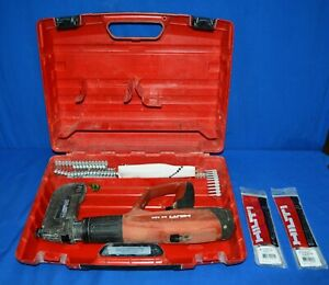 Hilti Dx460 Fully Automatic Powder actuated Tool W Case