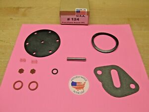 1932 1933 1934 Ford 4 Cylinder New Fuel Pump Repair Kit For Modern Fuels 856253
