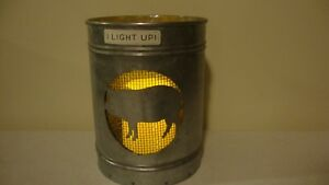 Country Tin Pig Led Candle Accent Light Nice