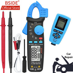 Bside Digital Clamp Meter thickness Gauge Paint Tester Car Repair Multimeter Kit