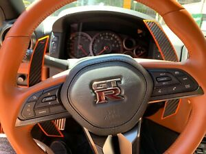 Fits Nissan Gtr R35 17 Extend Length Upgrade Onyx Paddle Shifter Kit