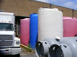 4 000 Gallon Vertical Poly Storage Tanks In Nj Sold Each