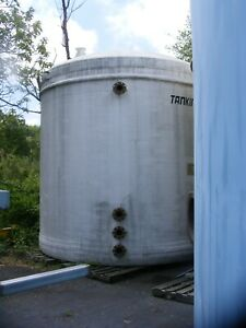 10 000 Gallon Poly Fiber Glass Resin Water Storage Tank In Nj Priced To Sell
