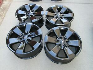 20 Ford F150 Expedition Fx4 Gloss Black Oem Factory Wheels Rims