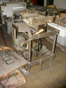 Small 2 Way Belt Conveyor 90 Degree Turn W Blower System Attached In Nj