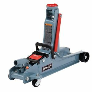 Floor Jack Heavy Duty 2 Ton Garage Shop Extra Low Profile Clearance Steel Frame