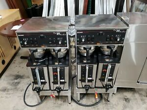 Bunn 27900 0002 Dual Sh Soft Heat Coffee Brewer Brews Maker Used