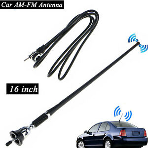 Universal 16 Car Auto Roof Fender Radio Am Fm Amplified Signal Aerial Antenna