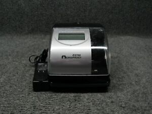 Acroprint Es700 Electronic Digital Date Stamp Employee Recorder Time Clock