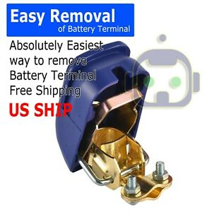 New Car Battery Link Terminal Quick Cut Off Disconnect Master Kill Shut Switch