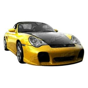Vis Racing Carbon Fiber Hood Oem For 99 04 Porsche 996 2dr