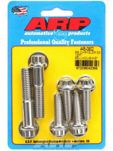 Arp Bellhousing Bolt Kit 12pt Suit Bb Chrysler 383 440 Wedge 445 0902