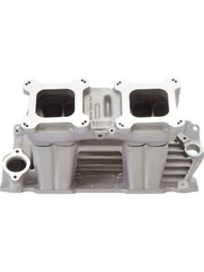 Edelbrock Tunnel Ram Intake Manifold Small Block Chevy 3500 7500 Rpm 7110