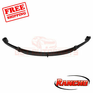Rancho Rear Lift Kit Component For 1991 1993 Jeep Wrangler Base 4wd