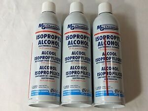 3 Mg Chemicals 99 9 Isopropyl Alcohol Electronics Cleaner 16oz 475ml Spray Cans