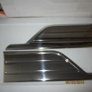 1951 52 Chevy Stainless Front Gravel Shields