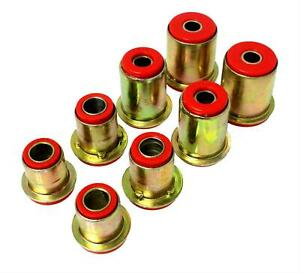 Energy Suspension Red Front Control Arm Bushing Set 1975 1979 Chevrolet Nova