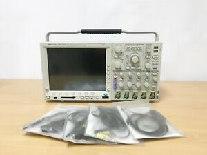Tektronix Mso4034 350mhz 2 5gs s 4ch Oscilloscope With P6300 Probes