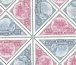 3130 31 PACIFIC M NH SHEET OF 16 SPECIAL SALE @ FACE $5.12