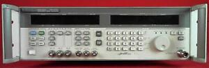 Hp agilent 83732a 1e1 3305a00172 Synthesized Signal Generator 10mhz 20ghz