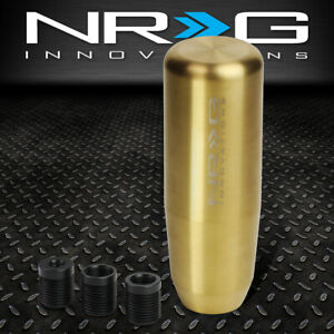 Nrg Innovations Sk 450gd Universal 3 5 Weighted Manual Shift Knob M8 M10 M12