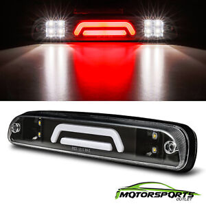 For 1999 2016 Ford 250 350 450 550 Super Duty Clear 3d Led Third 3rd Brake Light