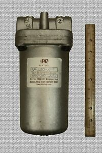 Waste Oil Heater Parts Large Cleanable Fuel Oil Filter Assembly By Lenz